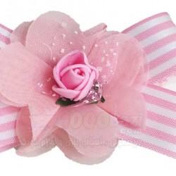 هدبند نوزادی طرح پاپیون و گل Aldiana