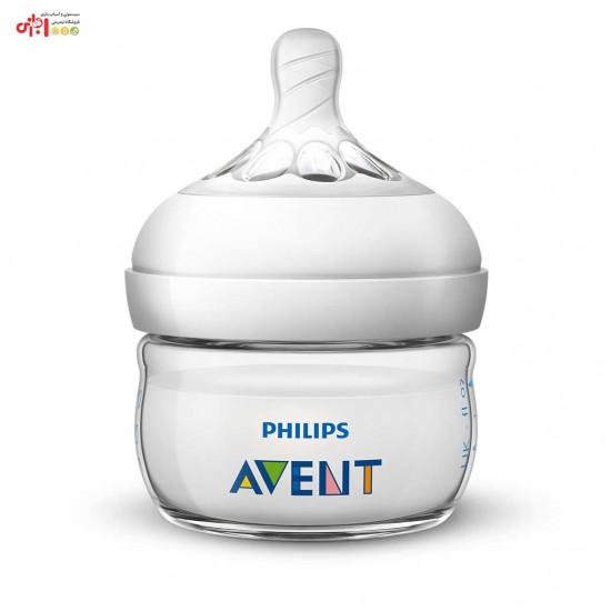 شیشه شیر نچرال 60 میل فیلیپس اونت  Philips Avent