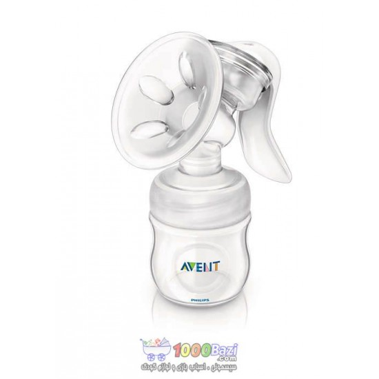 شیردوش دستی با شیشه شیر 125 میلی Philips Avent