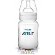 شیشه شیر کلاسیک 260 میل ضد کولیک Philips Avent