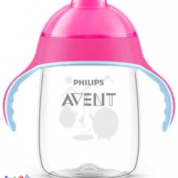 لیوان آبمیوه خوری بدون چکه +6 ماه طرح پنگوئن Philips Avent
