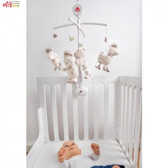آویز تخت موزیکال طرح لاما بیبی فن Baby Fehn