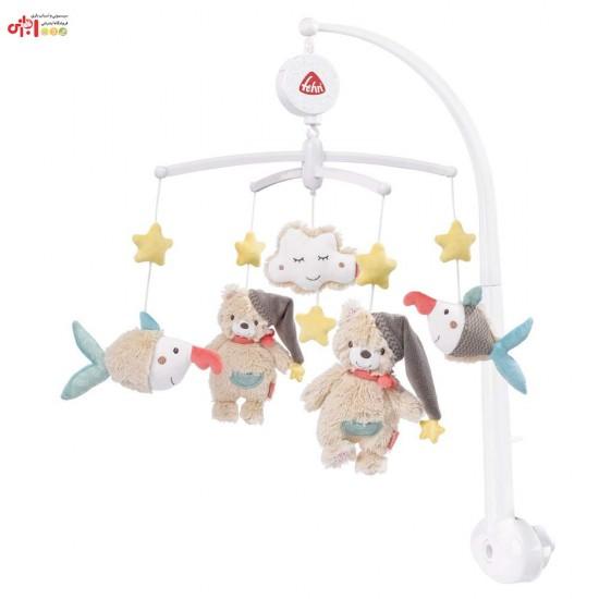 آویز تخت موزیکال طرح خرس بیبی فن Baby Fehn