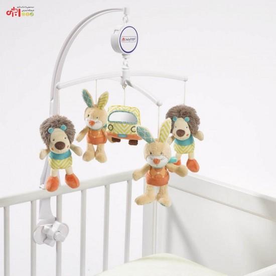 آویز تخت موزیکال طرح شیر بیبی فن Baby Fehn