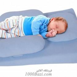 تشک شیب دار محافظ دار نوزادی با بالش Sevibebe