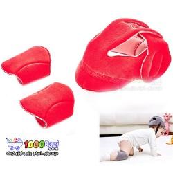 کلاه و زانوبند محافظ کودک BabyJem