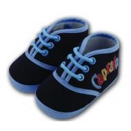 کفش پسرانه بندی سرمه ای 5 تا 8 ماه Baby Jem ترکیه