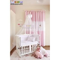 تخت گهواره نوزاد چوب راش ترک Aybi baby