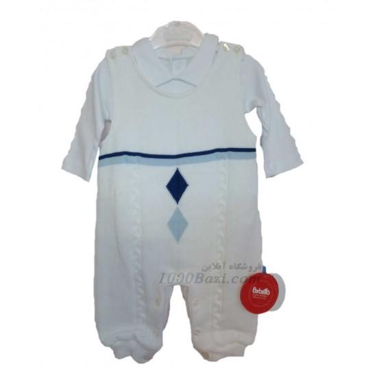 لباس بچه بافت سرهمی و بلوز 6 ماهه Bebetto