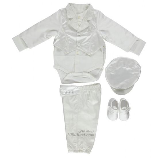 ست لباس دامادی نوزاد 6 ماهه Bebetto