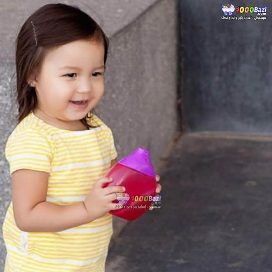 لیوان قمقمه ای کودک بون Boon