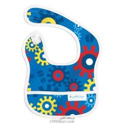 پیش بند نوزاد طرح چرخ دنده Bumkins