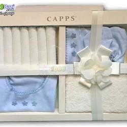 ست دستمال، پیشبند، کلاه، جوراب نوزاد پسرانه Cassiope
