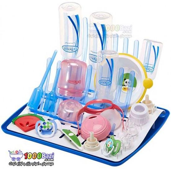 خشک کن تاشوی شیشه شیر و پستانک DrBrowns