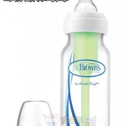 شیشه شیر جدید 120 میل تکی باریک Dr.Browns
