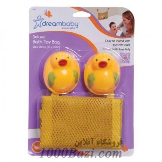 کیسه توری اسباب بازی حمام کودک Dreambaby