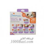 لوازم ایمنی حمام برای کودک (28 قطعه) Dreambaby