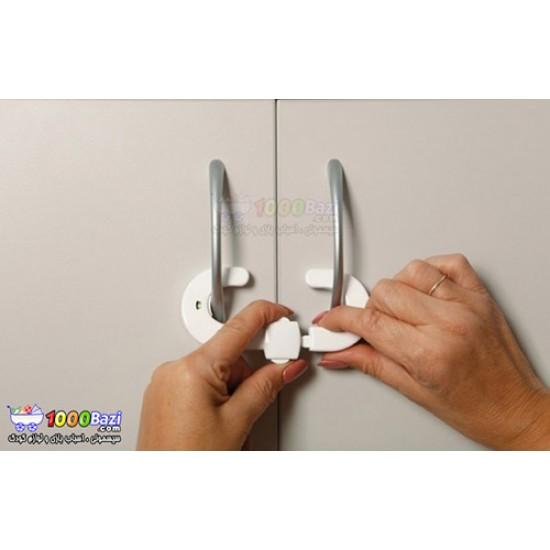 قفل کابینت پلاستیکی با قابلیت نمایش وضعیت قفل DreamBaby