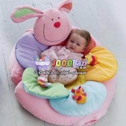 تشک بازی و استراحت کودک طرح خرگوش ELC