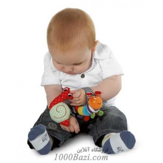 پاپوش و مچ بند نوزاد ELC