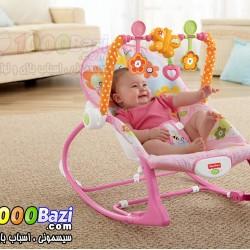 گهواره نوزاد و کودک صورتی Ibaby