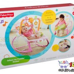 گهواره نوزاد و کودک صورتی Fisher Price