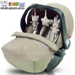 کالسکه، کریر و ساک حمل نوزاد گراکو Graco Quattro DLX Bear Friends