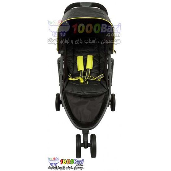 کالسکه تکی مشکی کودک 0 تا 15 کیلوگرم  Graco Evo Mini Graphite