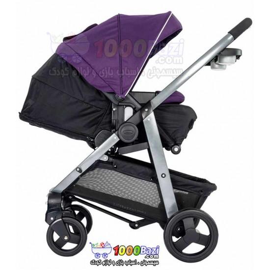 کالسکه بنفش تا 23 کیلوگرم طرح Graco Sky Purple Shadow