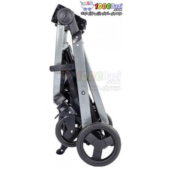 کالسکه تکی مشکی گراکو طرح Graco Sky Stroller Black Night