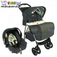 کالسکه و کریر کودک 0 تا 3 سال مدل Graco Mirage Plus Bowtie Bear
