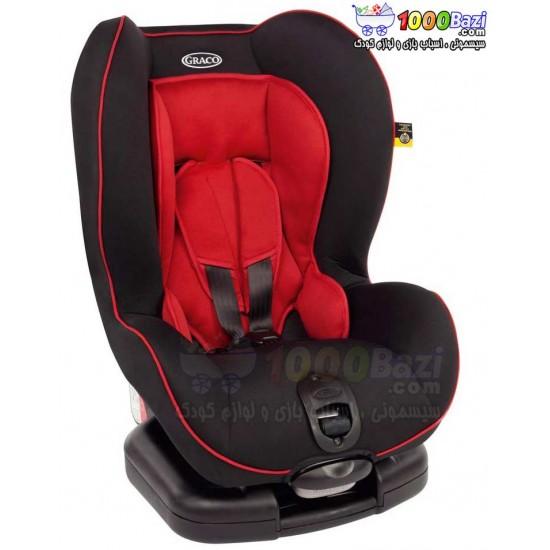 صندلی ماشین کودک قرمز مشکی مدل Graco Coast Chilli