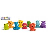 پوپت حیوانات اینفانتینو Infantino Tub O' Toys