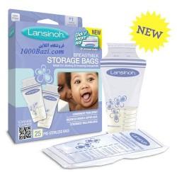 کیسه ذخیره شیر مادر 25 عددی Lansinoh انگلستان