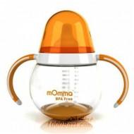 بطری سوپاپ دار کودک نارنجی mOmma انگلستان
