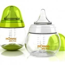 شیرخوری بدون دسته کودک سبز mOmma انگلستان