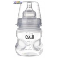 شیشه شیر مدیکال ضد کولیک نوزاد Lovi