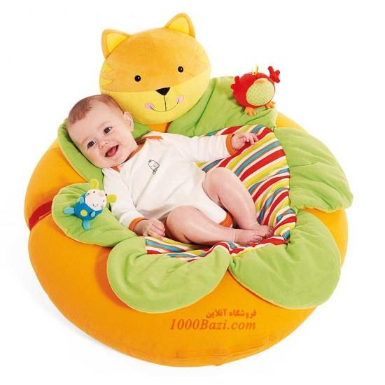 تشک بازی و استراحت کودک طرح گربه Mothercare