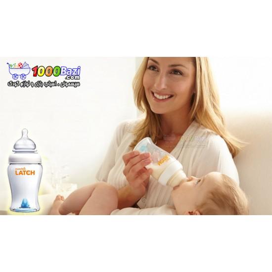 شیشه شیر ضد کولیک 240 میل نوزاد Munchkin Latch