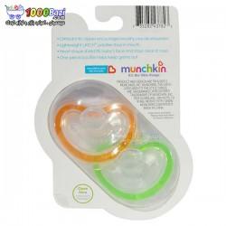 پستانک دو عددی نوزاد سایز 3 تا 6 ماه Munchkin