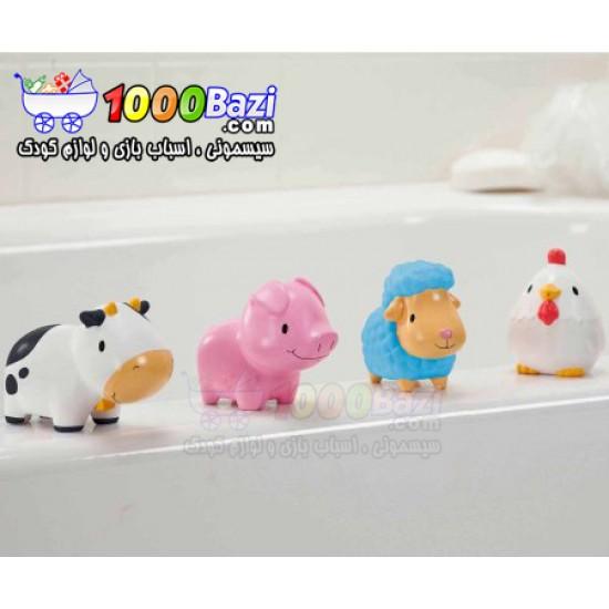 حیوانات مزرعه آبپاش مخصوص حمام Munchkin
