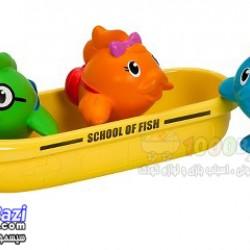 اسباب بازی قایق مدرسه ماهی ها مخصوص حمام Munchkin