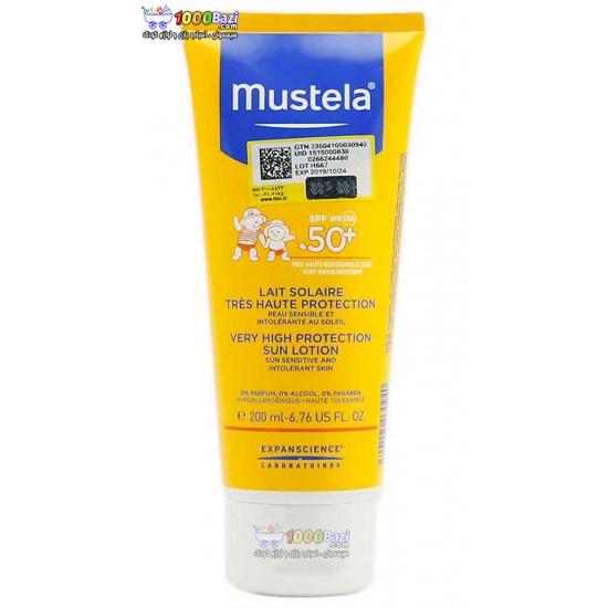 لوسیون ضد آفتاب 200 میل موستلا mustela