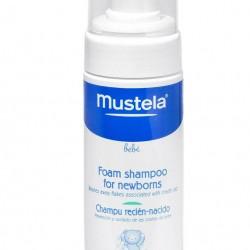 شامپو فوم  چربی سر نوزاد موستلا Mustela