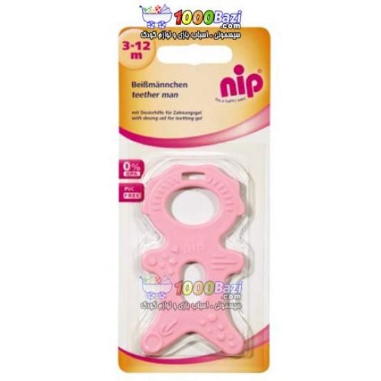 دندانگیر نوزاد طرح آدمک Nip