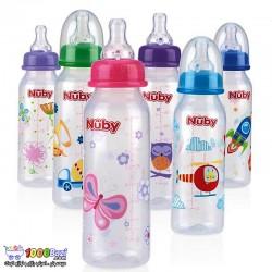 شیشه شیر طرح دار کودک Nuby