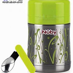 فلاسک غذای کودک با قاشق Nuby