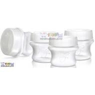 ظروف ذخیره ساز شیر مادر 4 عددی Nuby