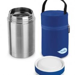 فلاسک غذا 500 میل همراه کیف عایق Nuvita