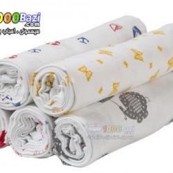 دستمال خشک کن و دورپیچ بزرگ 3 عددی نوزاد